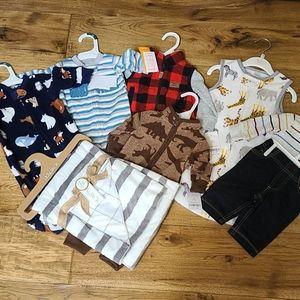 7 piece brand new 0-3 month baby set
